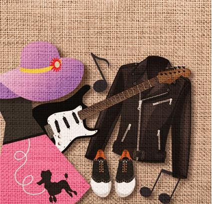 Music, 1950's & Fashion