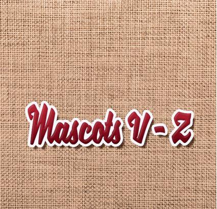 Mascots V-Z