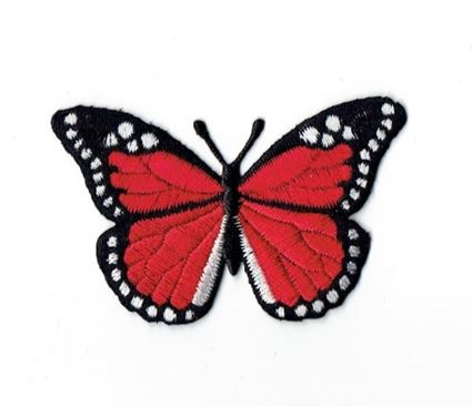 Red/Black Butterfly