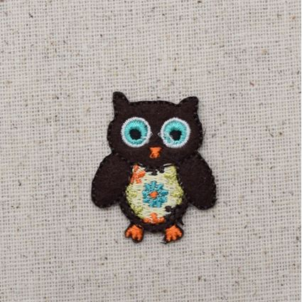 Small Brown Retro Owl