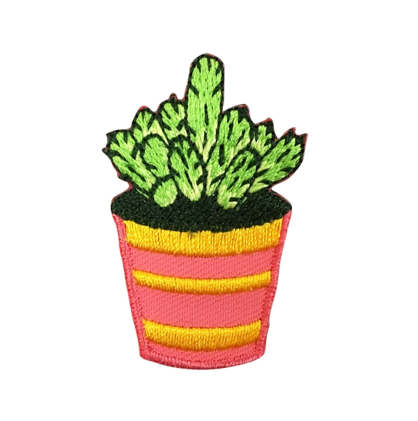 Cactus - Pink/Orange Pot