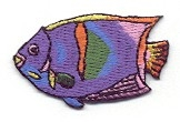 FISH TROPICAL HEAT SEAL APPLIQUE 696399-A SPECIAL ORDER