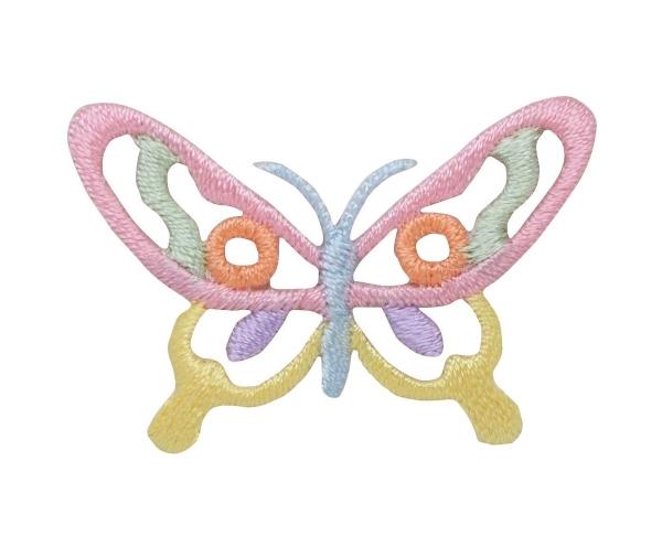 Open Pastel Butterfly