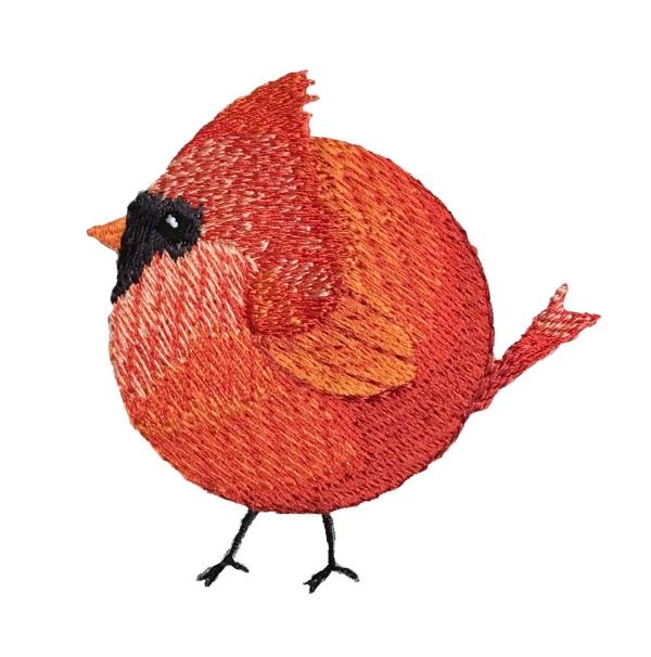 Chubby Cardinal