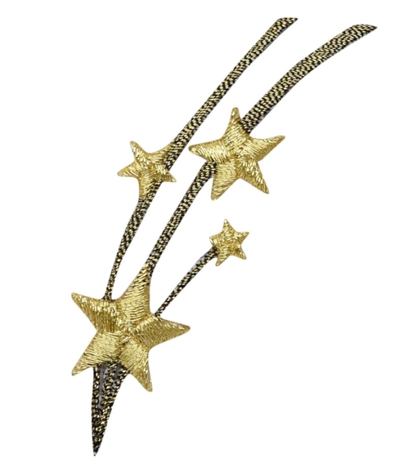 CELESTIAL STAR IRON ON PATCH 150216-A