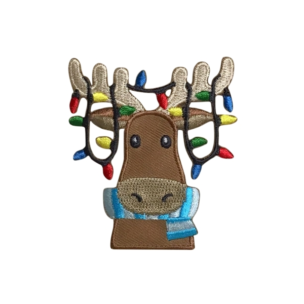 Moose - Christmas Lights