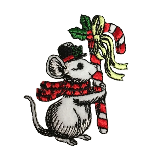 Christmas Mouse - Candy Cane