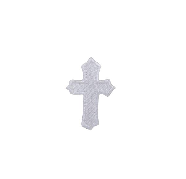 Small White Religious Cross