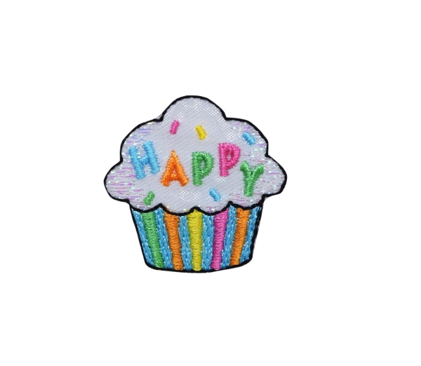 CUPCAKE IRON ON PATCH 1518602-A