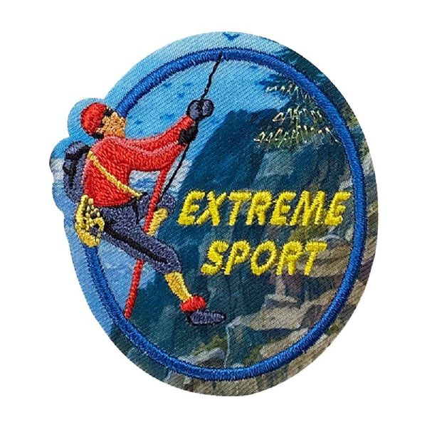 Outdoors - Extreme Sport Rappelling
