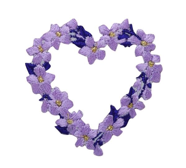 Flower Heart - Purple