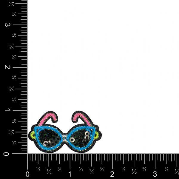 Black Sequin Sunglasses