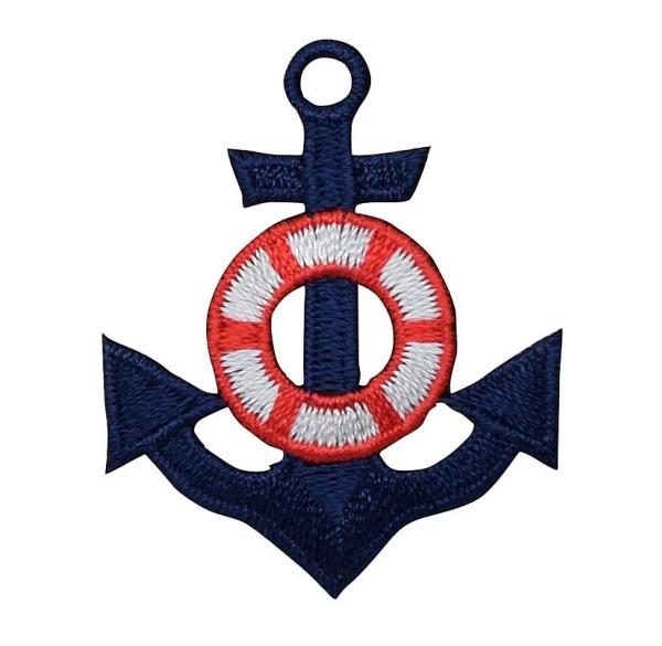 Blue Anchor & Preserver