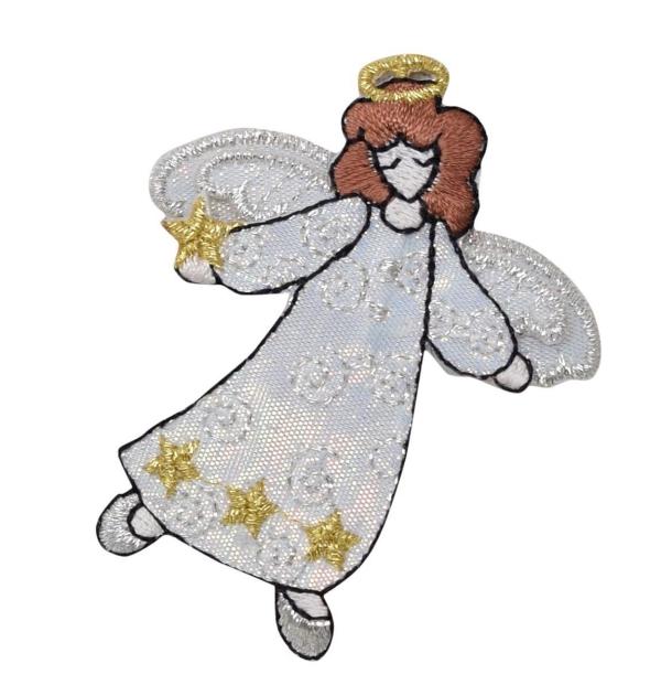 Standing White Robe Angel