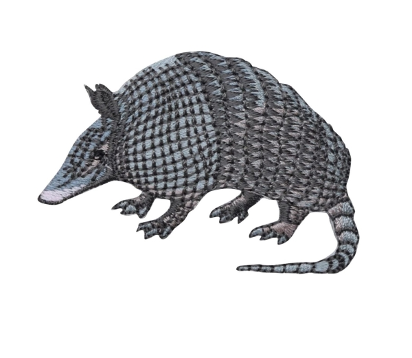 Nine Banded Armadillo - Facing Left
