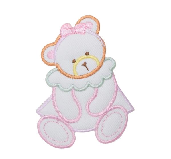 Pastel Puffy Girl Bear