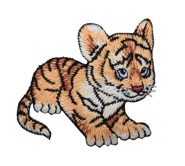 Orange Striped Baby Tiger Cub