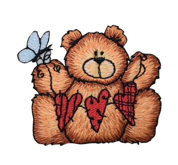 Bear with String of Hearts