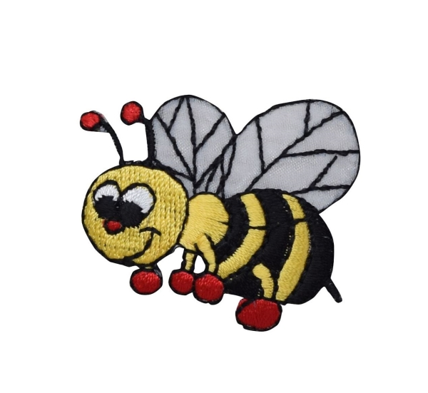 Bee with Red Boxing Gloves