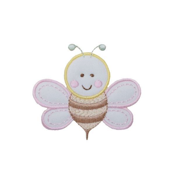 Pastel Puffy Bee
