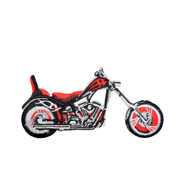 Black and Red Motorcycle