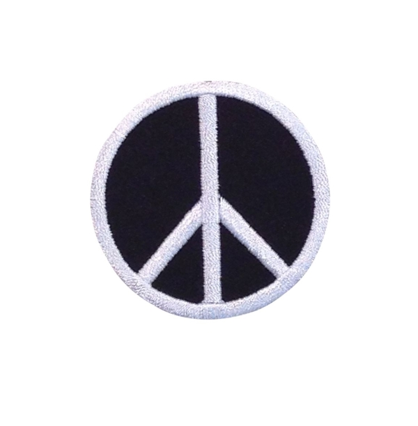 Black/White 60s Peace Sign