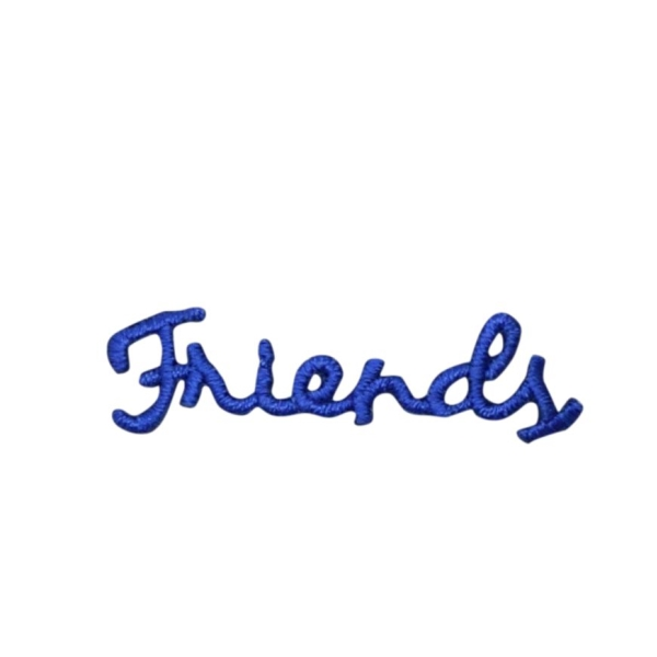 Blue Friends Greeting