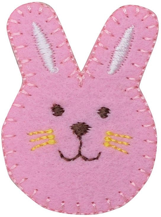 Pink Bunny Face