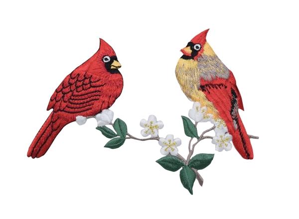 Cardinal Couple on a Branch