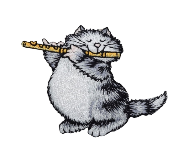 Cat  with Flute