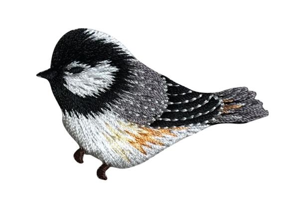 Chickadee Facing Left