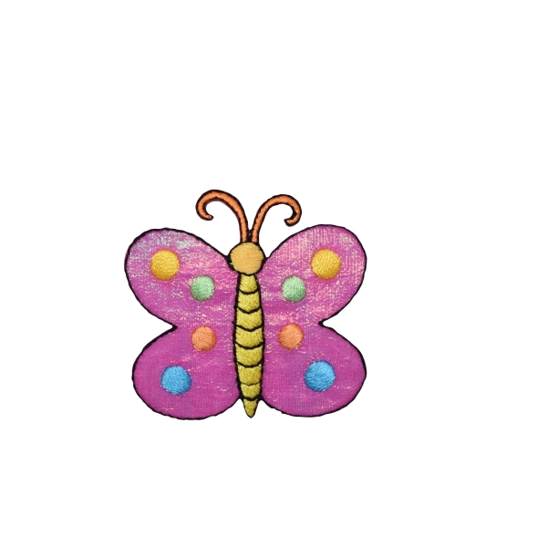 Large Pink Shimmery Butterfly