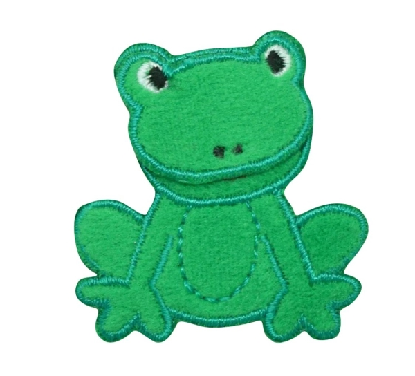 Childrens Fuzzy Green Frog