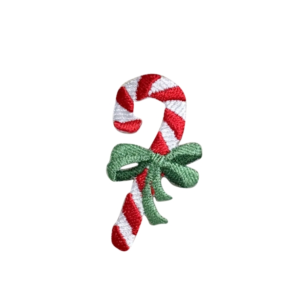 Candy Cane - Green Bow
