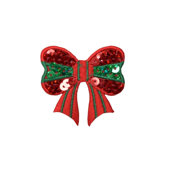 Christmas Sequin Bow