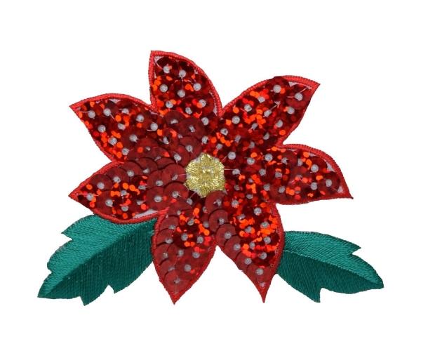 Sequin Poinsettia
