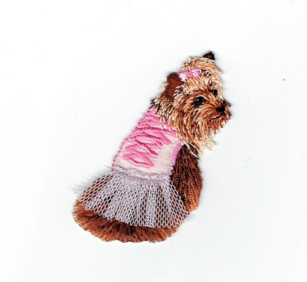 Yorkie - Pink Tutu