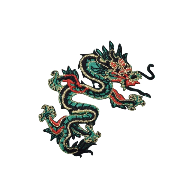 Large Green/Red Dragon Right