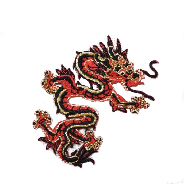 Small Red/Black Dragon Right