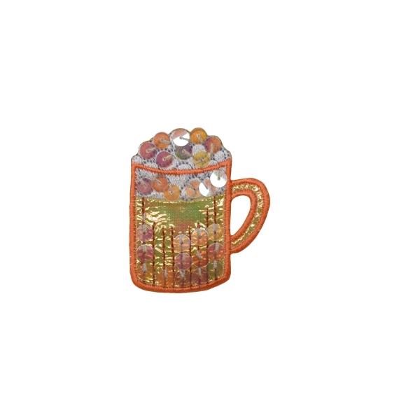 Sequin Beer Mug