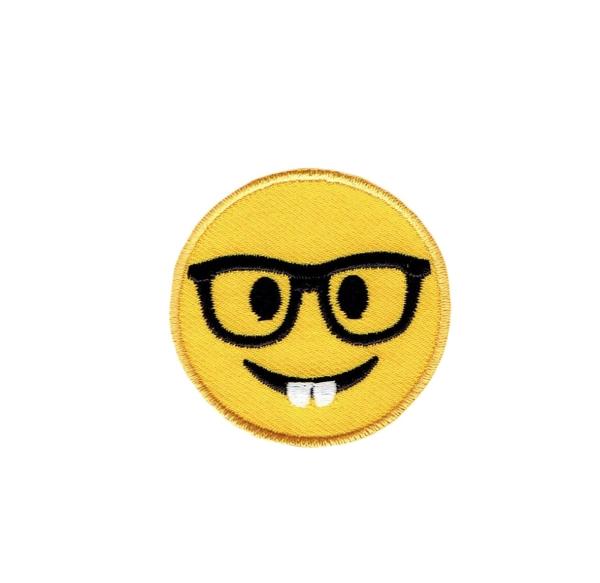 Emoji - Nerd with Glasses