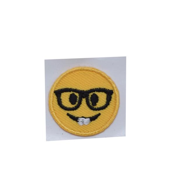 Small - Emoji Nerd Glasses