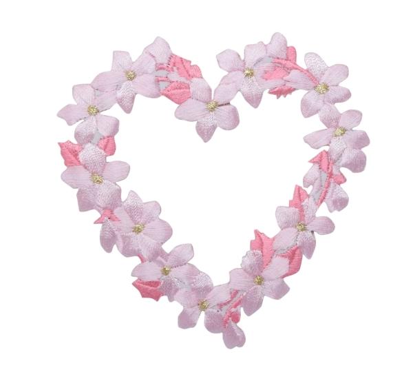 Flower Heart - Pink