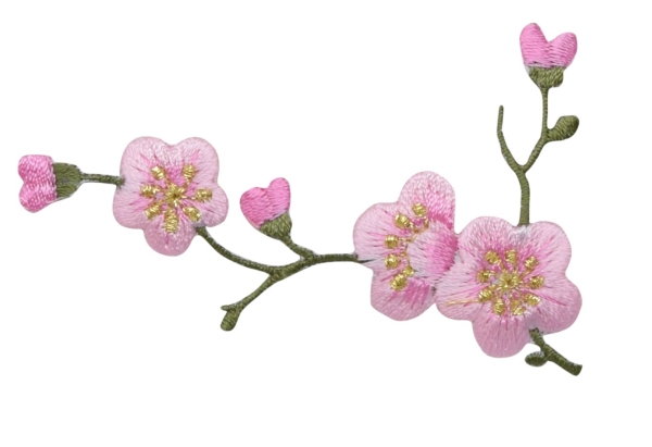Pink Cherry Blossom - Left