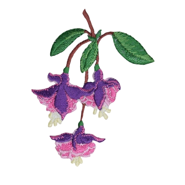 Fuchsia Flowers Lady's Ear Drops