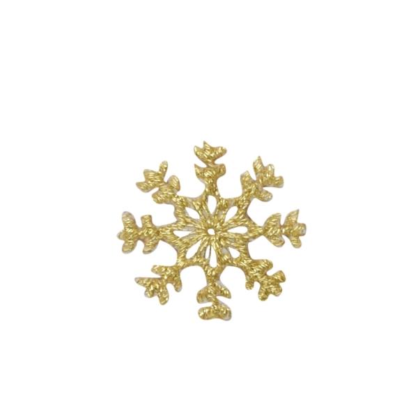 Gold Snowflake 1