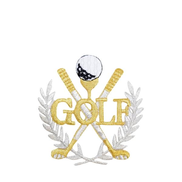Golf Gold Laurel Wreath
