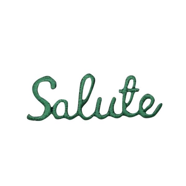 Green Salute Greeting
