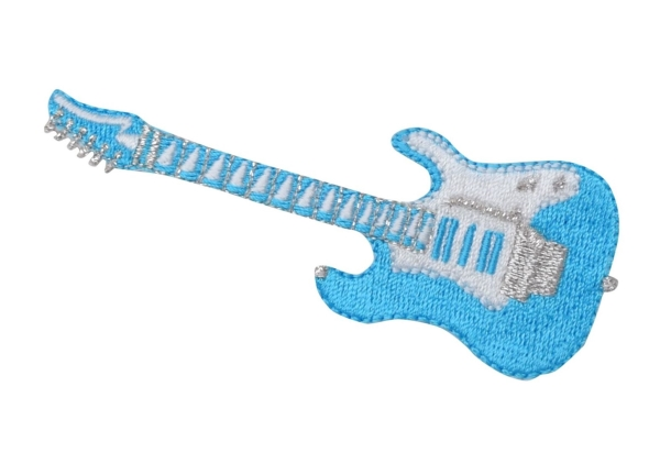 Guitar - Turquoise/White