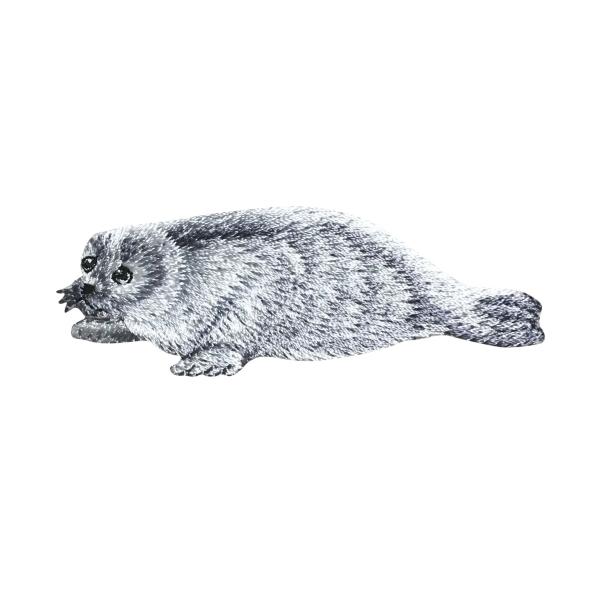 Harp Seal - White/Gray